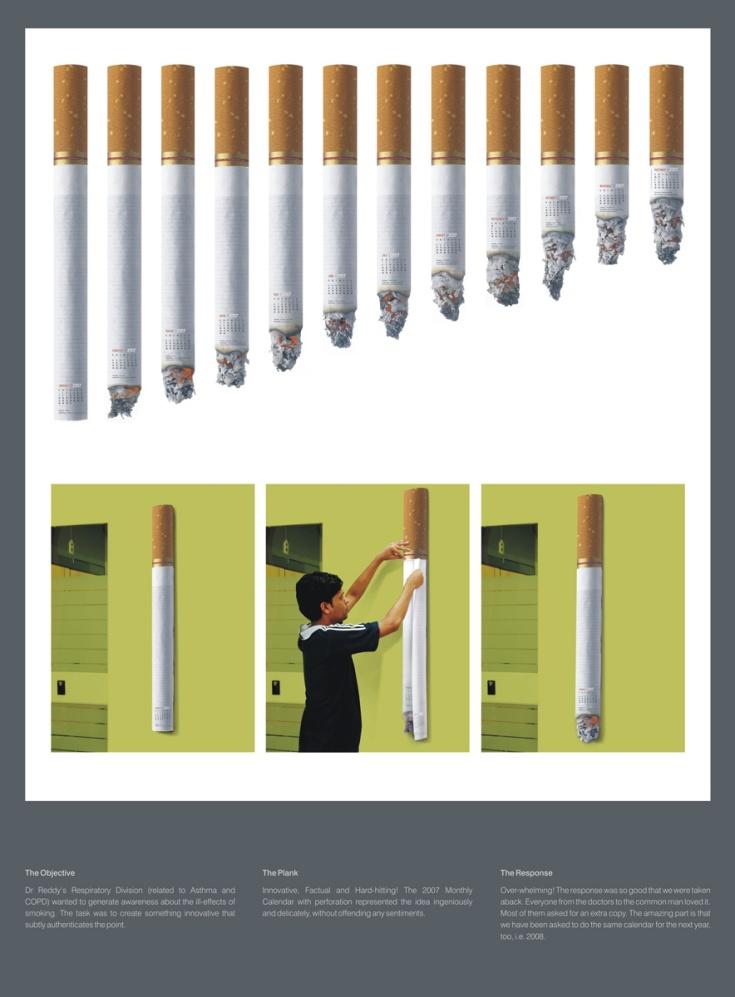 Drreddy Cigaratte Calendario