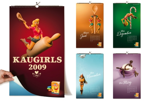 kaugirls calendario