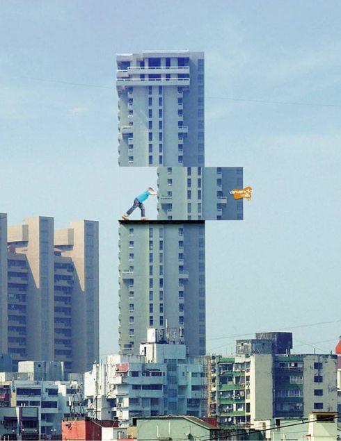 Anando edificio