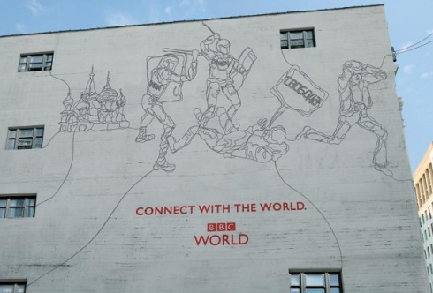 BBC World connected ad