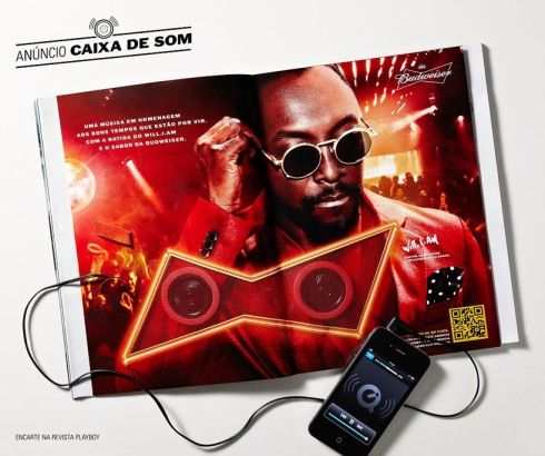 budweiser will.i.am ad vinyl
