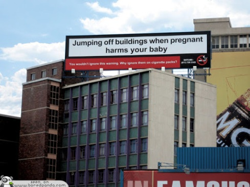 Clever-and-Creative-Antismoking-ads-jumping-Billboard