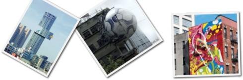 Collage edificios