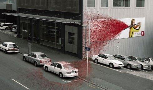 Kill Bill edificio publicidad