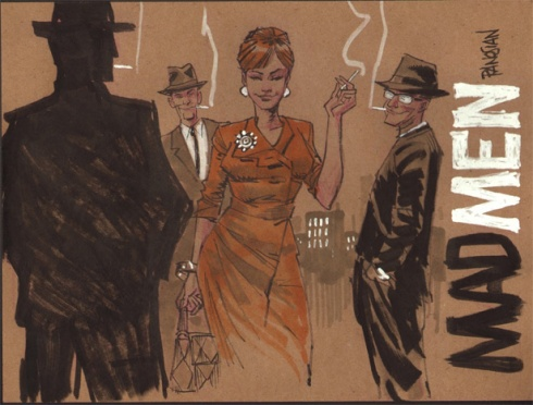 mad men ilustración 3