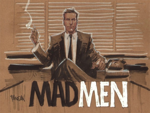 mad men ilustración Don
