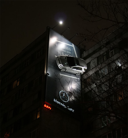 Mercedes-Advertisement