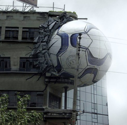 Nike ball adificio