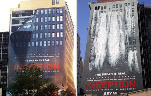 Origen película edificio anuncio