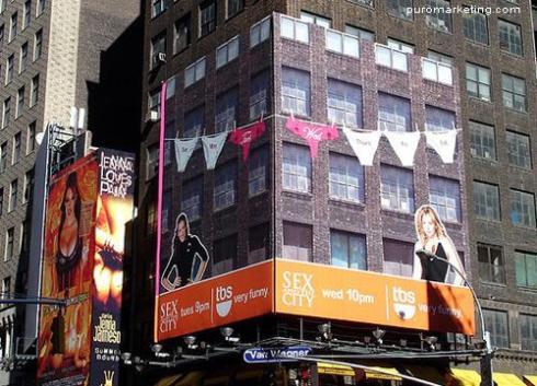 Sexo en Nueva York anuncio