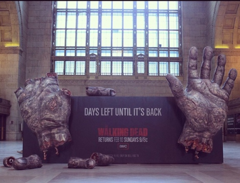 Walking Dead ad